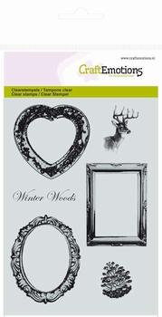 Tampon clear stamps motif