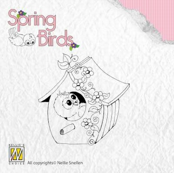 Clear Stamp Spring birds