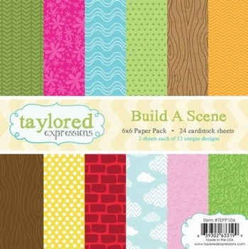 Taylored Expressions Build A Scene 15 x 15 cm Paper Pack