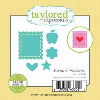 Dies Taylored Expressions  : TIMBRES  D'APPROBATION