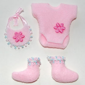 Mini-set baby roze tinten