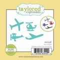 Dies Taylored Expressions Little Bits - Aircraft