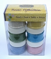 lot de 6 pots de sable coloré Basic collection 2